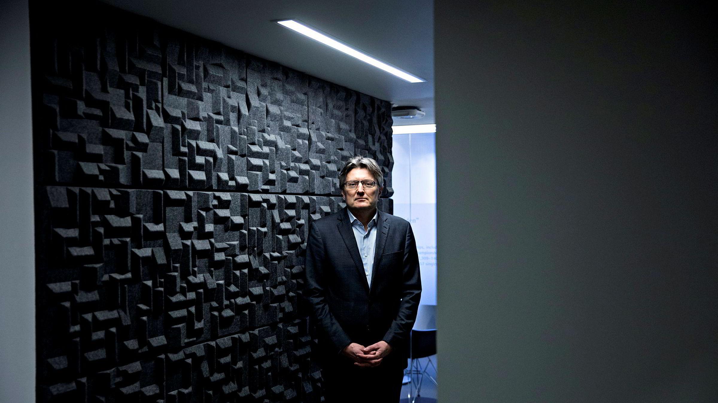 Porteføljeforvalter Petter Tusvik i Alfred Berg Kapitalforvaltning kaster DNB-aksjen ut av porteføljen denne uken.