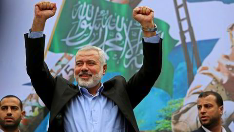 Ismail Haniyeh er valgt til leder av Hamas.