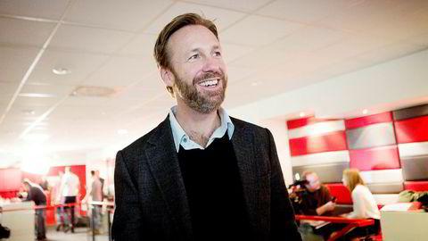 Thomas Giertsen beholder aksjene i Feelgood. Foto: Thomas Winje Øijord / NTB Scanpix