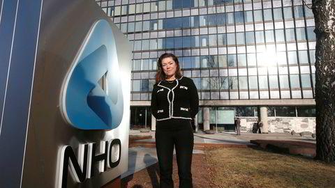 Kristin Skogen Lund, administrerende direktør, NHO utenfor Næringslivets Hus.
