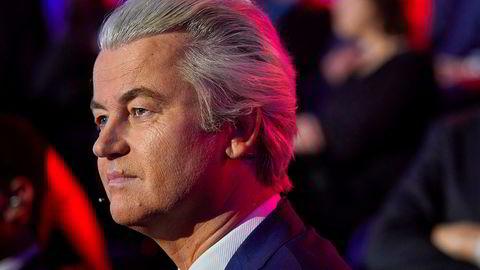 Geert Wilders hevder partiet hans allerede har vunnet valget i Nederland.