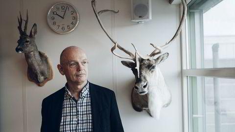 Ståle Kyllingstad er en ivrig jeger og har flere ganger kjøpt seg opp i jaktterreng. Han har stilt ut noen av dyrene på kontoret sitt på Sola, utenfor Stavanger.