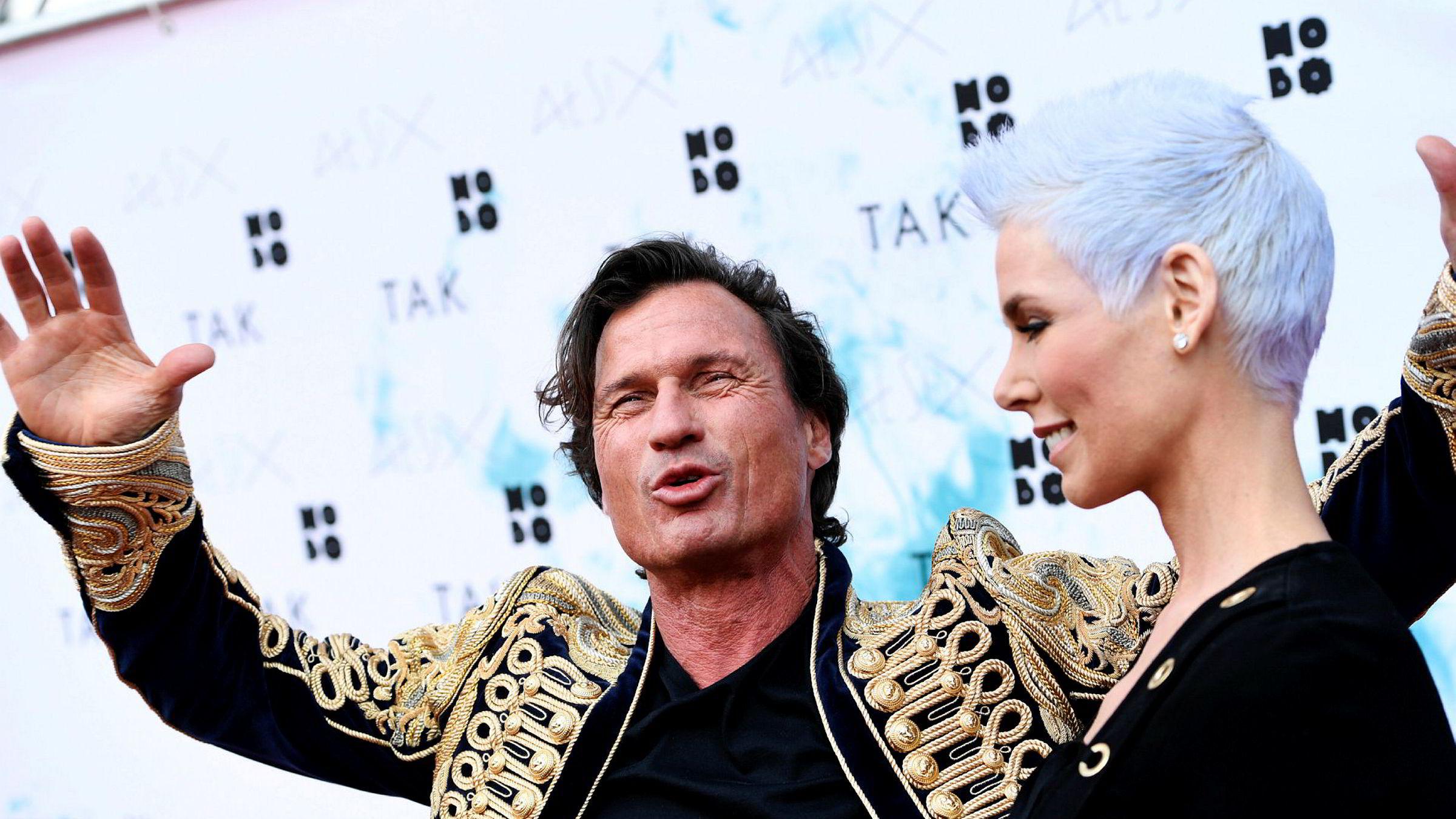 Petter og Gunhild Stordalen går fra hverandre etter ni års ekteskap.