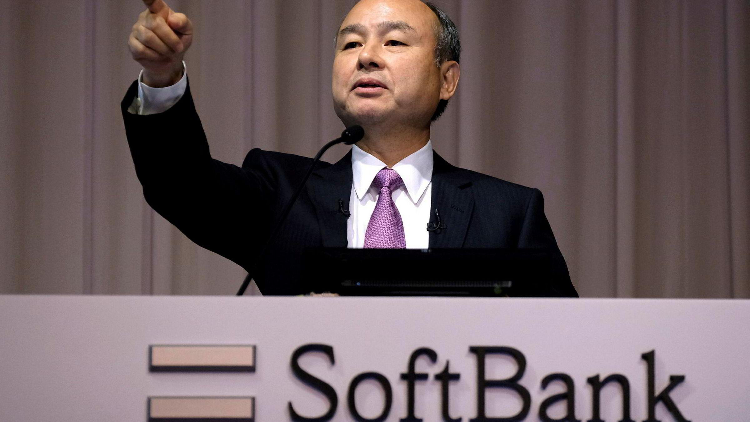 Masayoshi Sons Softbank har den siste uken sett på muligheten for å ta selskapet av børs i et forsøk på å betale ned en massiv gjeld.
