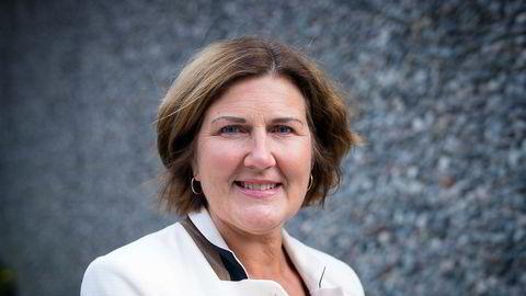 Oslo, Norge, 07-10-2015: Ingrid Dahl Hovland, sjefen i Nye Veier, foretrekker Veidekke som utbygger i Hedmark.