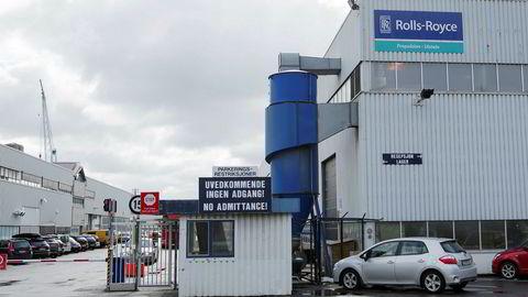 Også her ved Rolls-Royce i Ulsteinvik mister folk jobben.