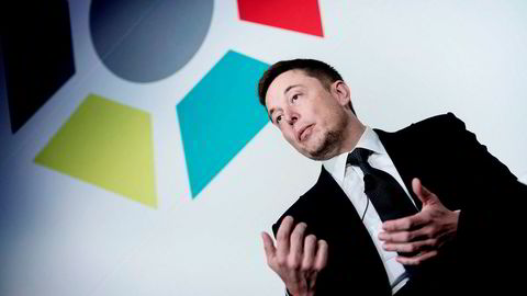 Onsdag hadde investorer veddet 8,3 milliarder dollar på et kursfall på børsen for Elon Musks Tesla.