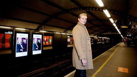 Norgessjef Isak Åsbrink i Clear Channel merker økt etterspørsel fra annonsører på utendørsreklame.