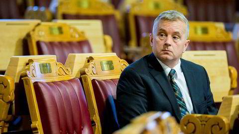 Knut Storberget (Ap) er en av 18 som skal stille spørsmål i spørretimen i dag. Her under en spørretime i Stortinget ifjor.