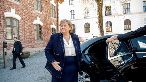 Erna Solberg skal snart i gang med en rekke møter med dem hun kaller fremoverlente i hver sin bransje.