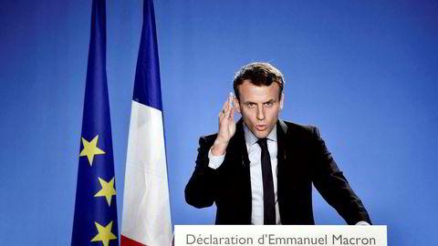 Emmanuel Macron vil redusere offentlige budsjetter med til sammen 60 milliarder euro i de neste fem årene. Å kutte syke- og dagpenger er en av tingene han skal gjøre for å få til det.