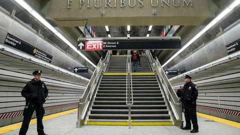 Den nye undergrunnsstrekningen «2nd Avenue Subway» i New York åpner for publikum 1. nyttårsdag.