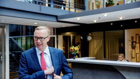 Administrerende direktør Stefan Ranstrand i panteautomatselskapet Tomra er interessert i å gå inn i det skotske pantemarkedet, og mener selskapet har én fordel.