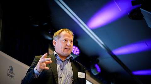 Svein Harald Øygard, seniorrådgiver i Sparebank 1 Markets, på Boligkonferansen 2019.
