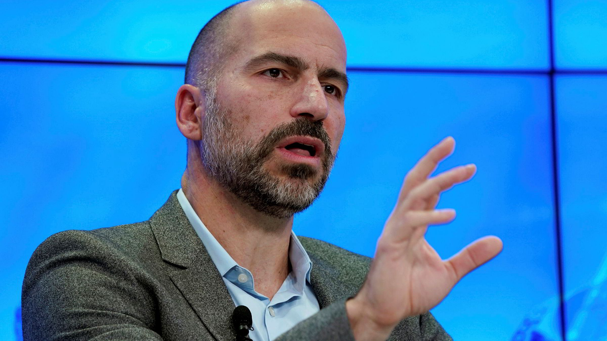 Dara Khosrowshahi, toppsjef i Uber, vil inn i nye bransjer.