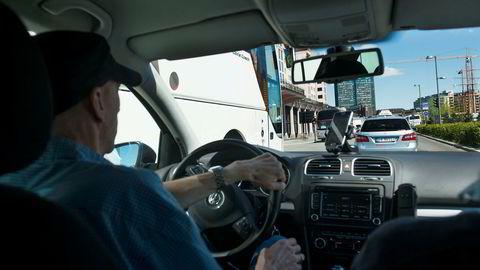 Arkivbilde. 105 navngitte norske Uber-sjåfører er politianmeldt av Norges Taxiforbund.