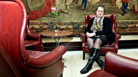 Liv Monica Stubholt var sentral da Senterpartiet sa nei til lakseskatt.