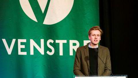 Leder for Unge Venstre Sondre Hansmark vil ha slutt på all oljeleting.