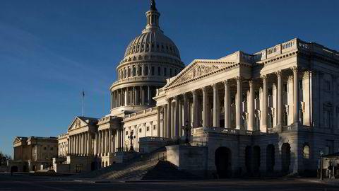 Kongressbygningen i USA. Foto: J. Scott Applewhite / AP / NTB scanpix