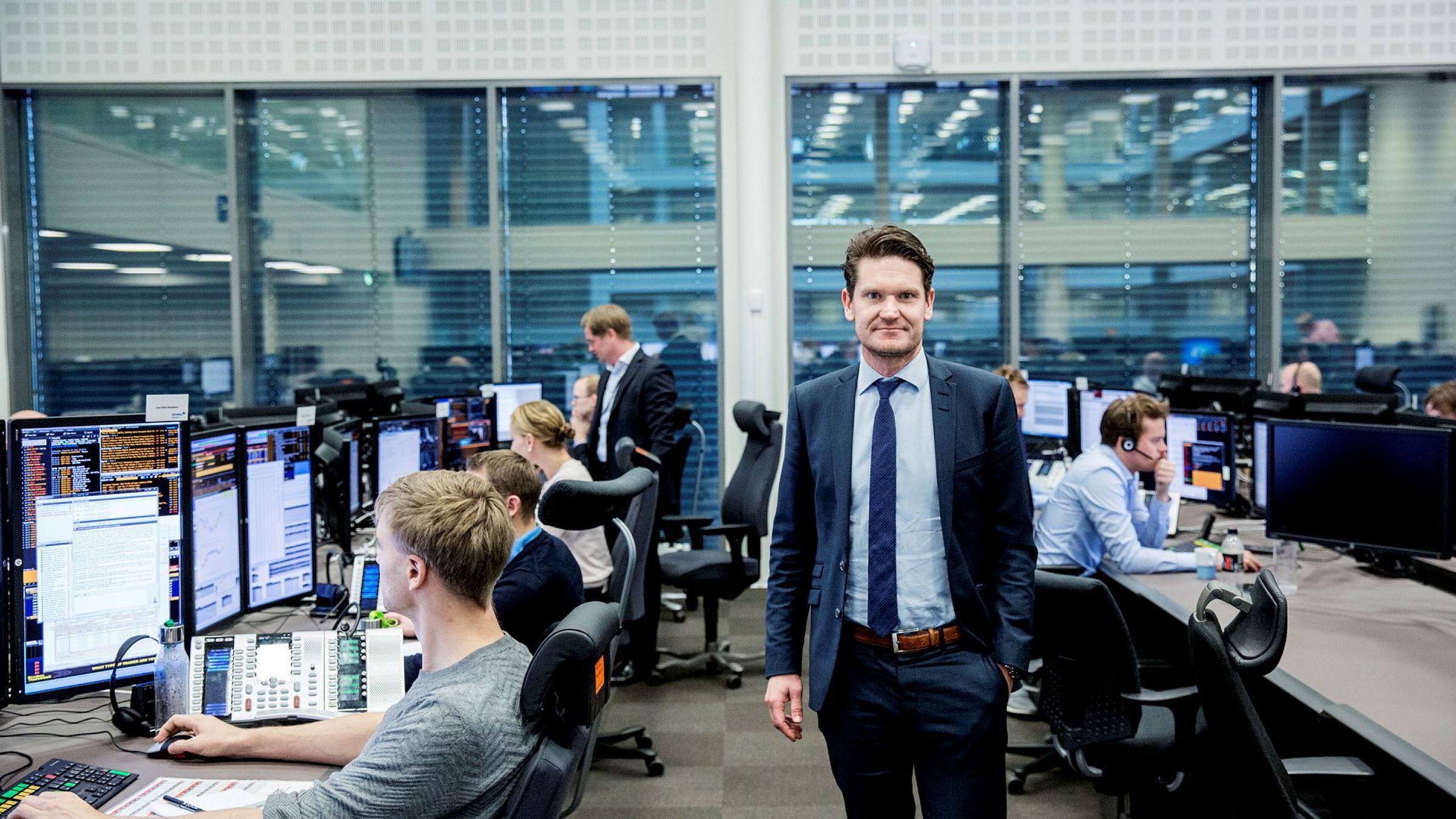 Sjeføkonom Kjetil Olsen i Nordea Markets tror bunnen for globale renter er nådd og at vi må belage oss på stigende renter fremover.