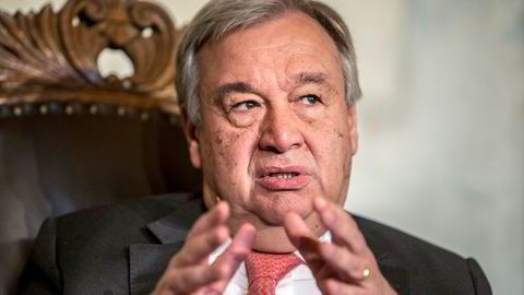 FNs generalsekretær António Guterres ber FNs sikkerhetsråd sørge for en uavhengig gransking av angrepene mot to tankskip i Omanbukta.