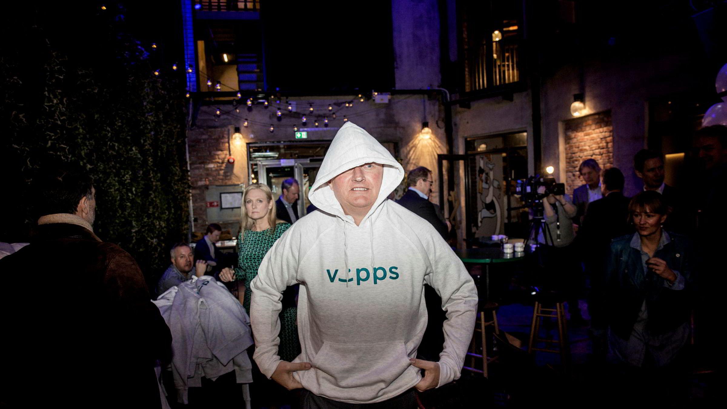 Konsernsjef Rune Bjerke i DNB tar en Vipps-gevinst på 754 millioner kroner i tredje kvartal.