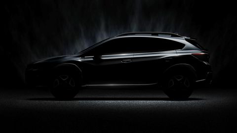 Andre generasjon Subaru XV debuterer i Genève.