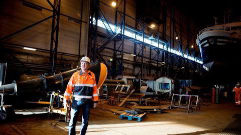 Administrerende direktør Greger Mannsverk i skipsverkstedet Kimek i Kirkenes understreker at både Russland og Norge trenger hverandre i nord.