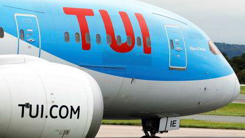 TUI er det eneste selskapet av de fire Forbrukertilsynet har vært i kontakt med som ikke er i rute med tilbakebetaling av pakkereiser. Bildet er tatt i 2018.