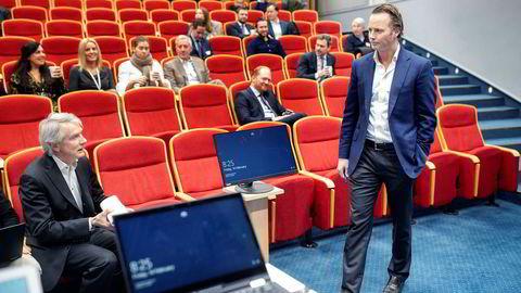 Thomas Wilhelmsen, konsernsjef i det børsnoterte Wilh. Wilhelmsen Holding, sitter med nøkkelen til Toluma-formuen på flere milliarder kroner.