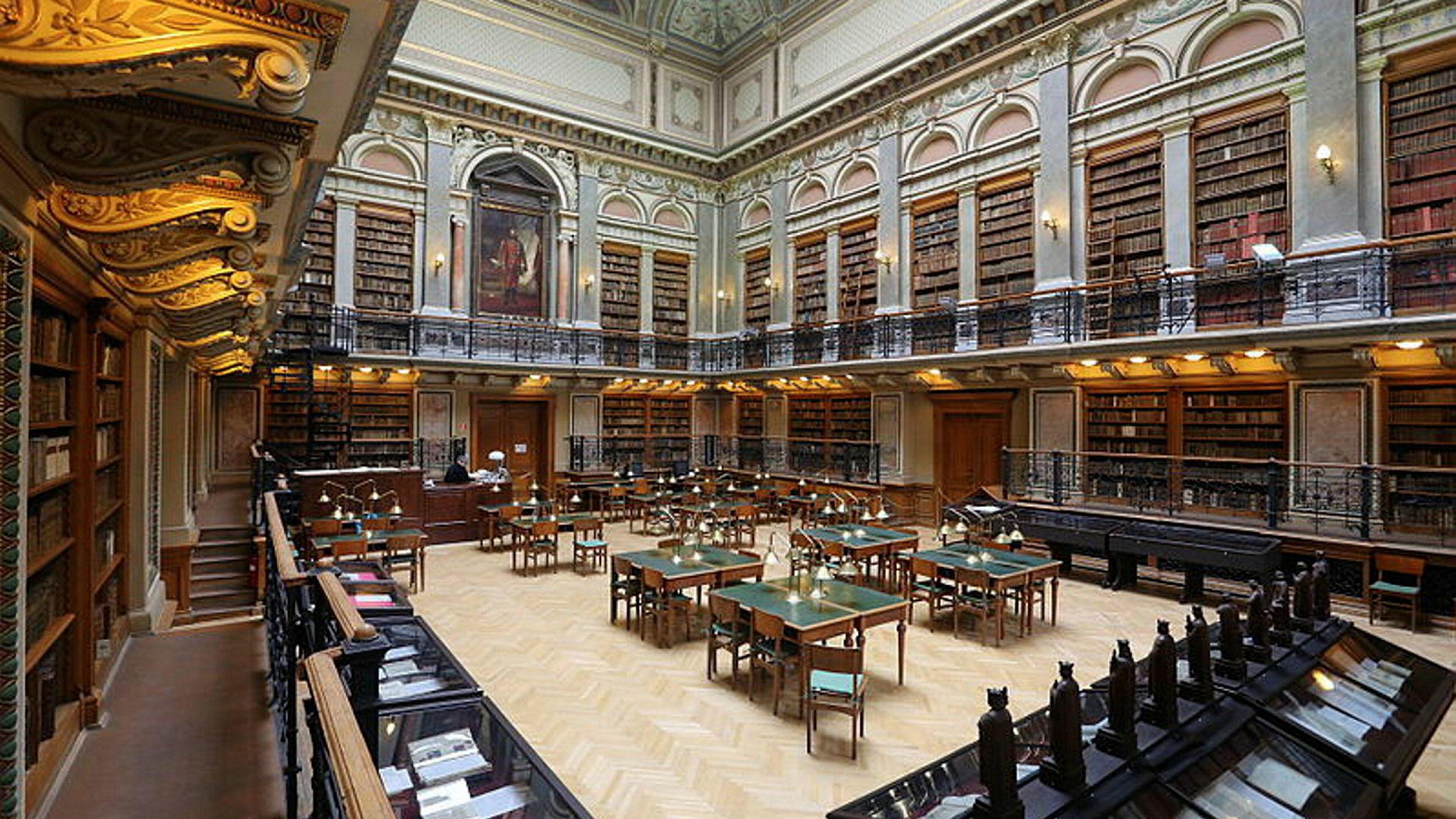 Helsedirektoratets vedtak rammet studenter som i god tro hadde brukt fem år av livet ved Elte i Budapest i Ungarn. Her fra biblioteket ved ved universitetet.