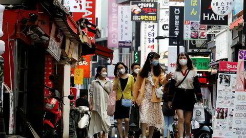 Studentene ved NTNU skulle egentlig til Seoul i Sør-Korea i slutten av mars. Koronaviruset satte en stopper for de planene.