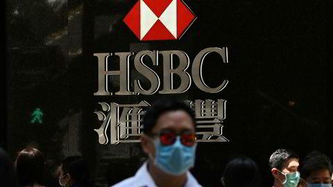 Den britiske storbanken HSBC får kritikk etter at Asia-sjefen har vist støtte til Kinas nye sikkerhetslov i Hongkong.