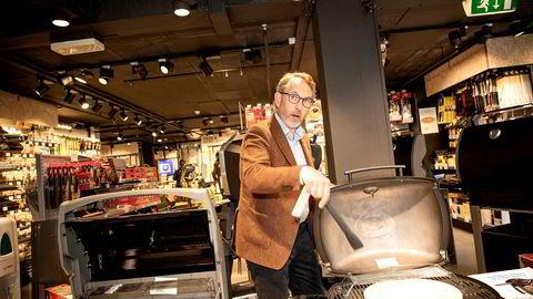 Jernia-sjef Espen Karlsen merker tydelig koronaeffekt på salget. – Vi har flere butikker i Osloområdet med 50–60 prosent økning i salget, sier han.