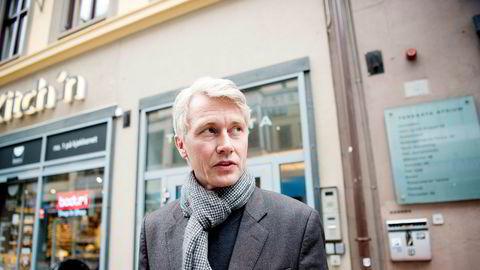 TV 2-sjef Olav T. Sandnes oppdaterte torsdag sine ansatte etter trakasseringsavsløringer. Bildet er tatt onsdag. Foto: Mikaela Berg
