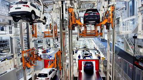 Volkswagens fabrikk i Wolfsburg.