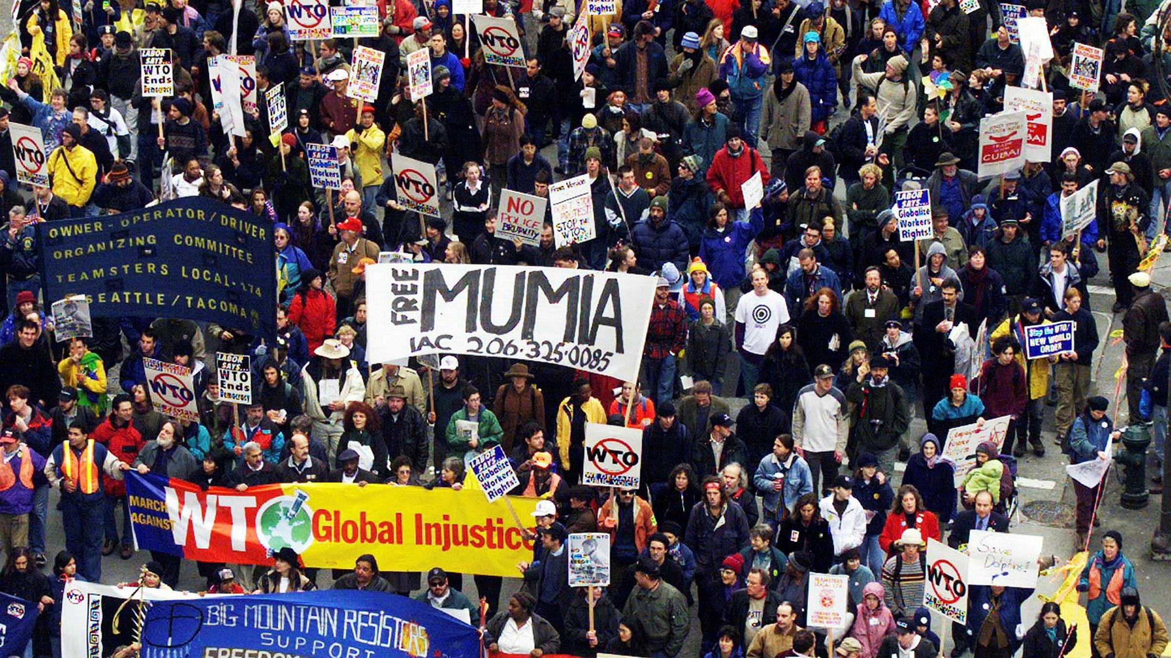 I 1999 lammet demonstranter Seattle i kamp mot WTO Seattle. Nå mister den mislikte organisasjonen musklene.