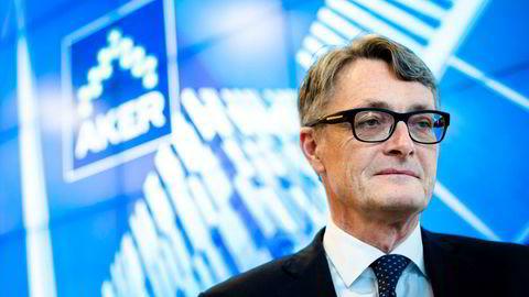 Aker-sjef Øyvind Eriksen (bildet) og Equinor-sjef Eldar Sætre satte denne uken inn lobbystøtet i arbeidet med nytt skatteregime for oljeselskapene.