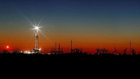 Oljerigg i Texas