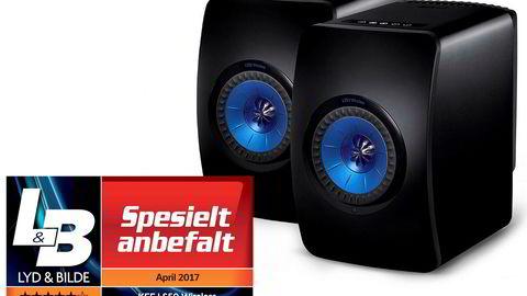 KEF LS50 Wireless er en av de beste trådløse høyttalerne på markedet.
