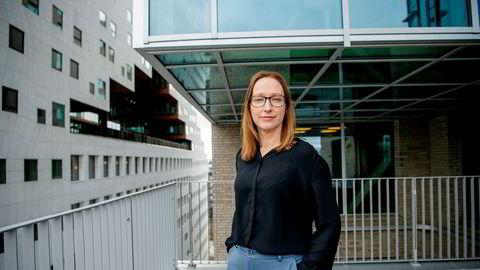 Sjeføkonom Kjersti Haugland i DNB trodde norsk økonomi skulle vokse mer i mai, etter det bratte fallet i mars og april.