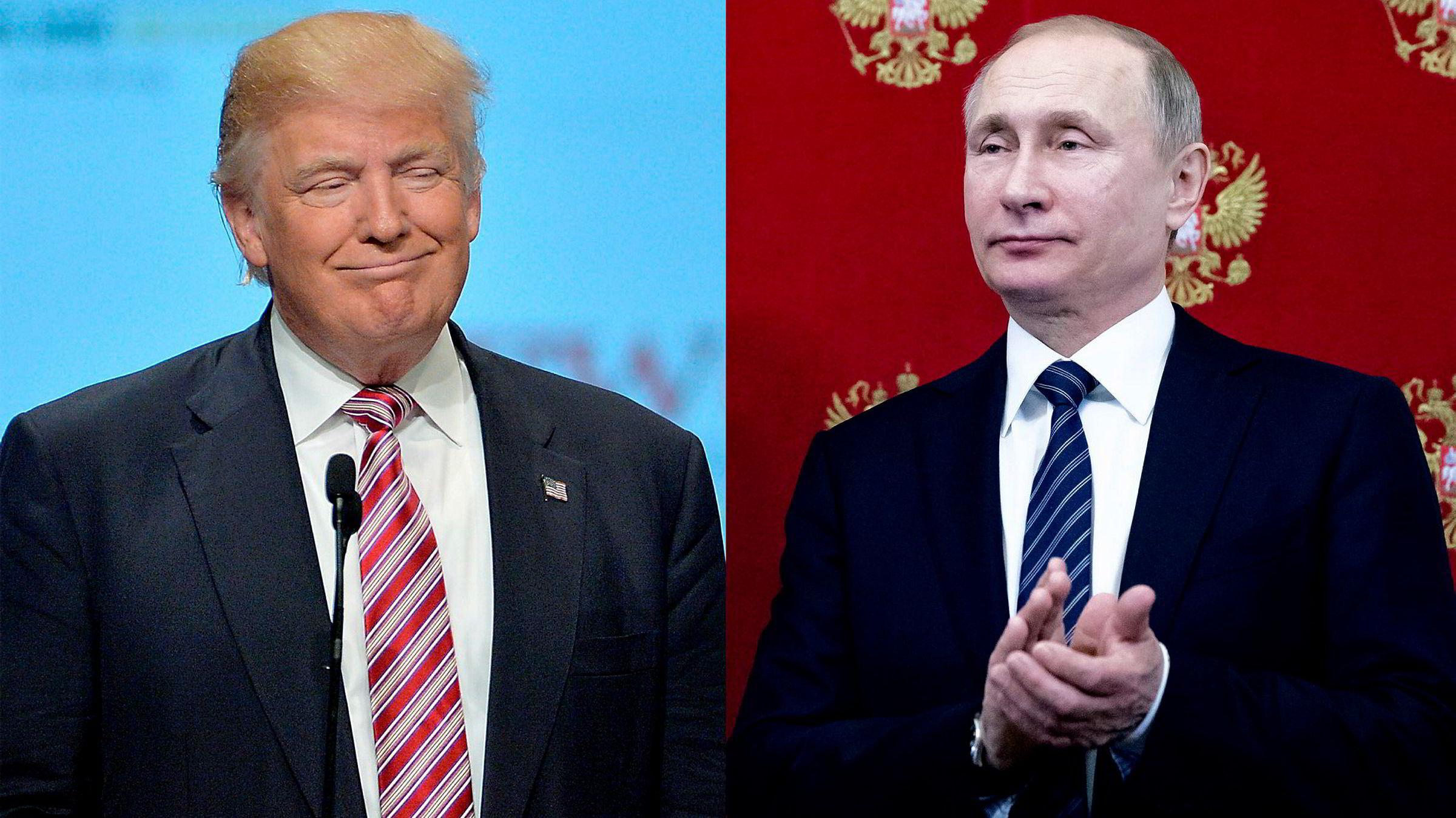 I valgkampen uttrykte Donald Trump ambisjoner om hestehandel og «grand bargains» med Vladimir Putins Russland om sanksjoner, våpenkontroll, Iran, Syria og Kina.