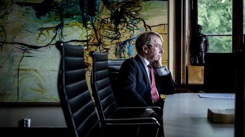 Investor Jens Ulltveit-Moe leder en internasjonal gruppering som har lagt inn et bud på mellom fire og fem milliarder kroner for Norske Skogs papirfabrikker. Han kan ikke forstå hvorfor budprosessen er blitt så forsinket. Foto: