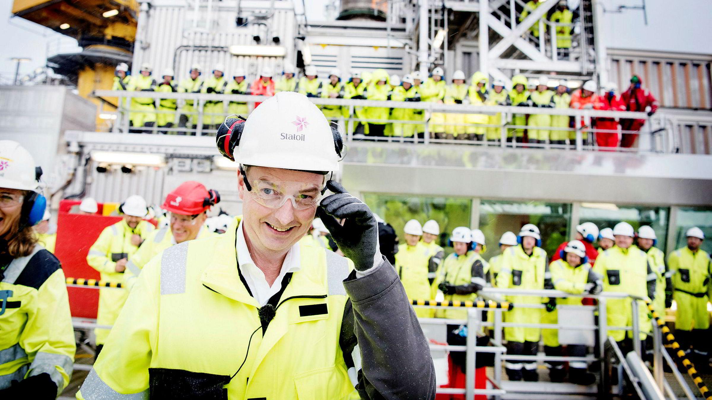 Olje- og energiminister Terje Søviknes kan notere seg for full seier for hans departement i milliardstriden med eierne av Gassled. Bildet av Søviknes er tatt på Gina Krog i oktober i fjor.