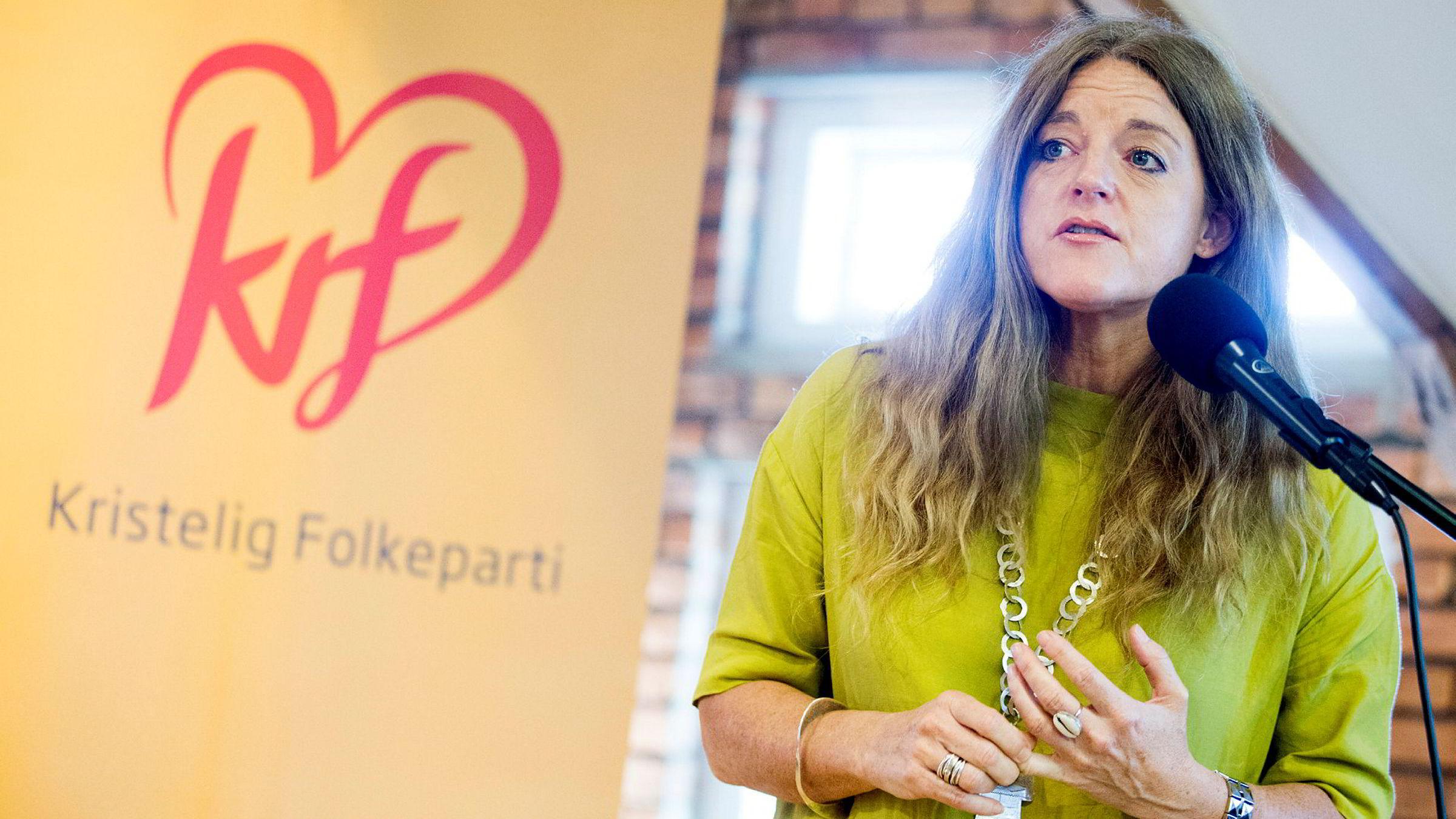 Generalsekretær Hilde Frafjord Johnson sier nedgangen er knyttet til en langvarig trend i partiene med mindre interesse for partimedlemskap.