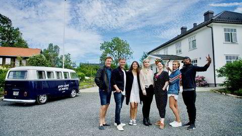  Mastiff produserer noen av de største og mest langlivede suksessene på TV 2: «Åsted Norge», (øverst fra venstre), «TV 2 hjelper deg», «God kveld Norge» og «Hver gang vi møtes».