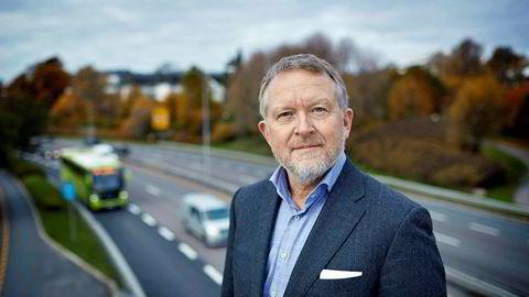 Administrerende direktør i Opplysningskontoret for veitrafikken Øyvind Solberg Thorsen tror synkende elbilsalg er et forbigående fenomen.
