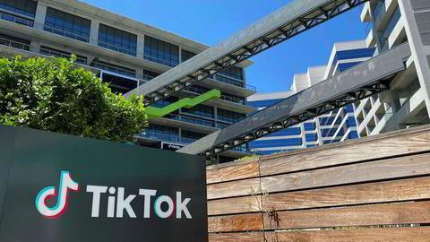 Tiden er i ferd med å renne ut for et salg av den kinesiske videoappen Tiktoks amerikanske virksomhet og deres nye kontorlokaler i Culver City øst for Los Angeles.