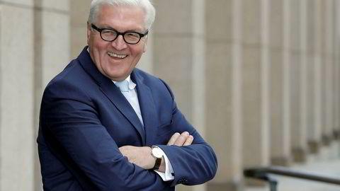 Frank-Walter Steinmeier ligger an til å bli Tysklands neste president.