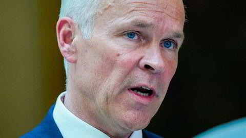 Finansminister Jan Tore Sanner (H) er regjeringens sjef for nordisk samarbeid.